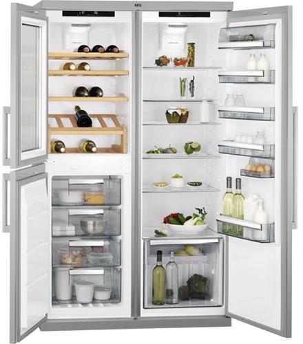 холодильник Side by Side AEG SCE72716TM