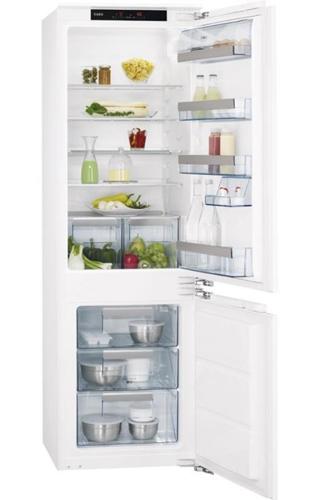 встраиваемый двухкамерный холодильник AEG SCS81800C0