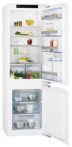 встраиваемый двухкамерный холодильник AEG SCS 71800 C0