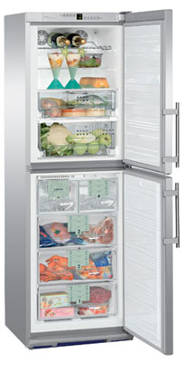 двухкамерный холодильник Liebherr BNes 2966