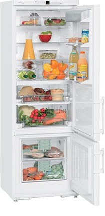 двухкамерный холодильник Liebherr CBN 3656