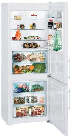 двухкамерный холодильник Liebherr CBN 5156