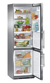 двухкамерный холодильник Liebherr CBNes 3857