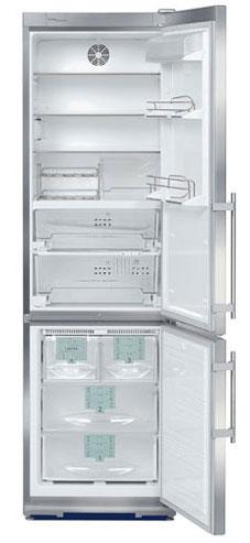 двухкамерный холодильник Liebherr CBNes 38570