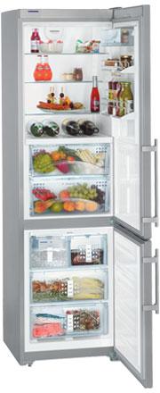 двухкамерный холодильник Liebherr CBNes 3957