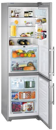двухкамерный холодильник Liebherr CBNes 3967