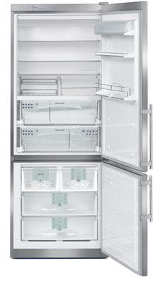 двухкамерный холодильник Liebherr CBNes 50670