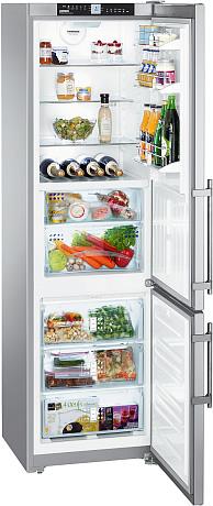 двухкамерный холодильник Liebherr CBNPes 3756