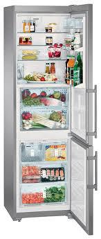 двухкамерный холодильник Liebherr CBNPes 3976