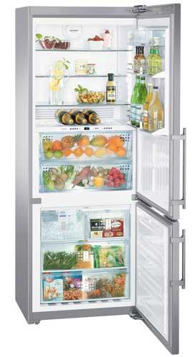 двухкамерный холодильник Liebherr CBNPes 5167 PremiumPlus BioFresh NoFrost
