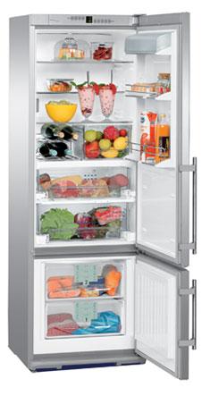 двухкамерный холодильник Liebherr CBPes 3656