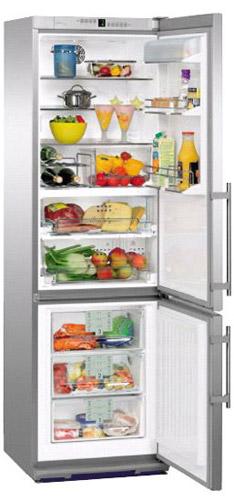 двухкамерный холодильник Liebherr CBPes 4056