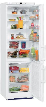 двухкамерный холодильник Liebherr CN 38030