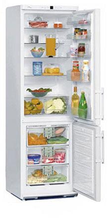 двухкамерный холодильник Liebherr CN 38130