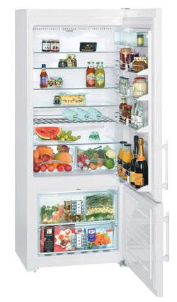 двухкамерный холодильник Liebherr CN 4656