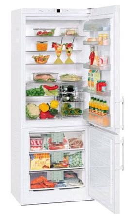 двухкамерный холодильник Liebherr CN 5013