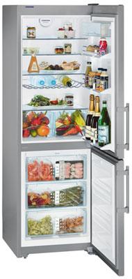 двухкамерный холодильник Liebherr CNes 3556