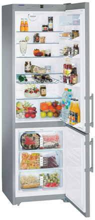 двухкамерный холодильник Liebherr CNes 4013