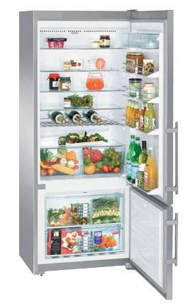 двухкамерный холодильник Liebherr CNes 4656