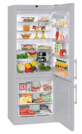 двухкамерный холодильник Liebherr CNesf 5013