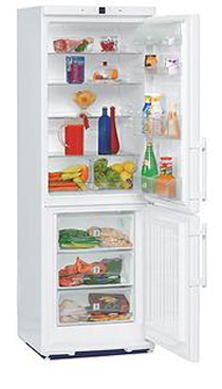 двухкамерный холодильник Liebherr CP 3501