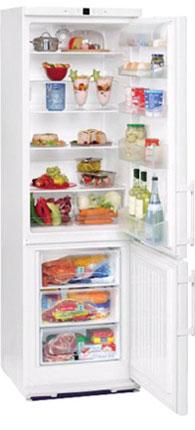 двухкамерный холодильник Liebherr CP 4003