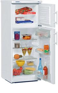 двухкамерный холодильник Liebherr CT 2431