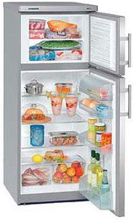 двухкамерный холодильник Liebherr CTesf 2421 / CTesf 24210