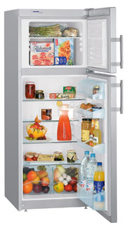 двухкамерный холодильник Liebherr CTesf 2431