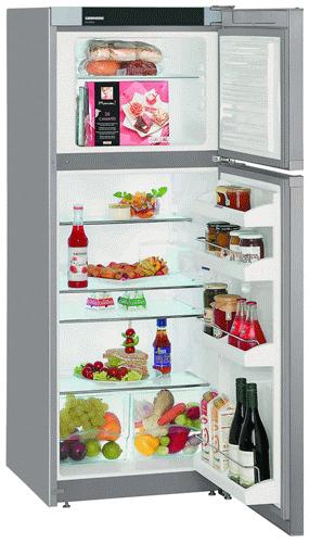 двухкамерный холодильник Liebherr CTsl 2441