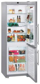 двухкамерный холодильник Liebherr CUesf 3503