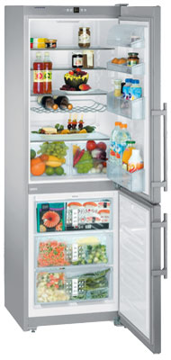 двухкамерный холодильник Liebherr CUNesf 3513