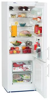 двухкамерный холодильник Liebherr CUP 2721