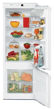 встраиваемый двухкамерный холодильник Liebherr IC 2956