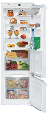 встраиваемый двухкамерный холодильник Liebherr ICB 3166