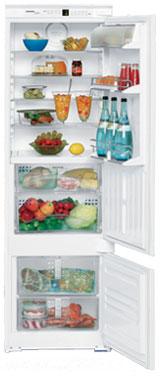 встраиваемый двухкамерный холодильник Liebherr ICBS 3156