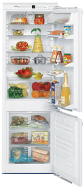встраиваемый двухкамерный холодильник Liebherr ICN 3056