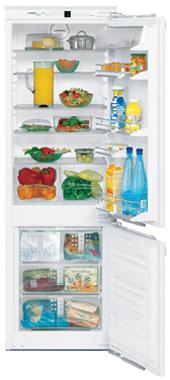 встраиваемый двухкамерный холодильник Liebherr ICN 3066