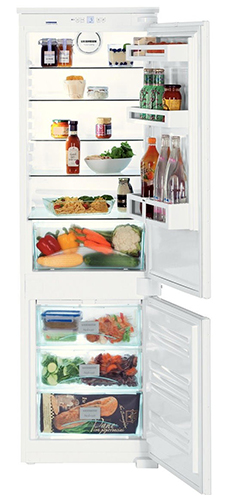встраиваемый двухкамерный холодильник Liebherr ICUN 3324 Comfort NoFrost