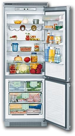 встраиваемый двухкамерный холодильник Liebherr KEKNv 5056