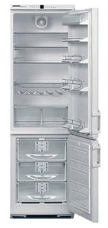 двухкамерный холодильник Liebherr KGNv 3846