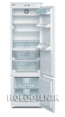 встраиваемый двухкамерный холодильник Liebherr KIKB 3146