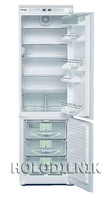 встраиваемый двухкамерный холодильник Liebherr KIKNv 3046