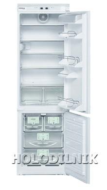 встраиваемый двухкамерный холодильник Liebherr KIKNv 3056