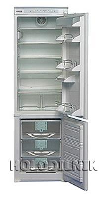 встраиваемый двухкамерный холодильник Liebherr KIKv 3043