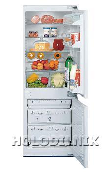 встраиваемый двухкамерный холодильник Liebherr KIS 2742