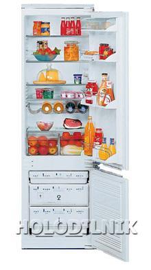 встраиваемый двухкамерный холодильник Liebherr KIS 3242