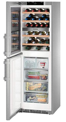 морозильники с винным шкафом Liebherr SWTNes 4265-20