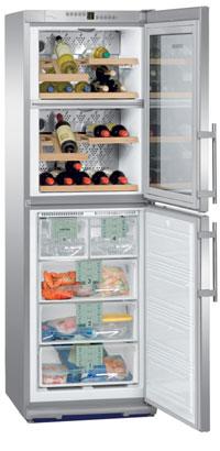 двухкамерный холодильник Liebherr WTNes 2956