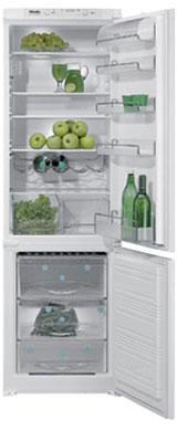 встраиваемый двухкамерный холодильник Miele KF 883 i-1